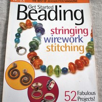 Get Started Beading Paperback Beading and Jewelry Book 52 Projects