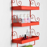 Plum & Bow Triple-Tiered Wall Shelf-
