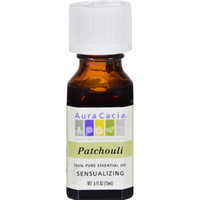 Aura Cacia Pure Essential Oil Patchouli - 0.5 Fl Oz