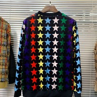 Gucci autumn and winter new men and women sweater  trend couple models print Sweater