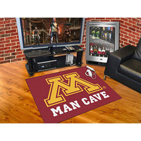 Minnesota Golden Gophers NCAA Man Cave All-Star Floor Mat (34in x 45in)