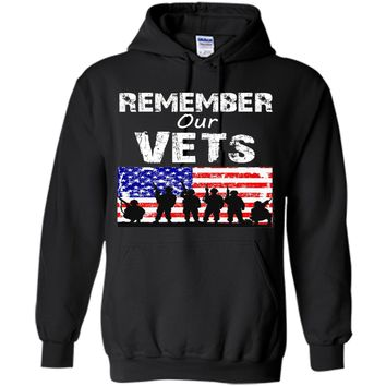 Memorial Day Flag T shirt - Remember Our Vets