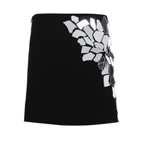 Loewe Black Mirrored Mini Skirt - Black Mirrored Mini Skirt