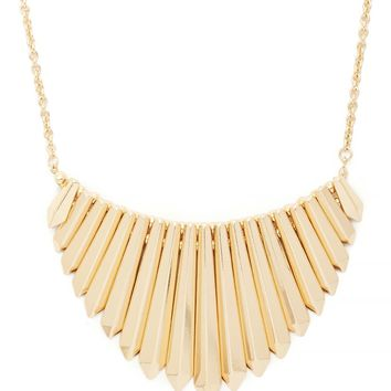 Matchstick Statement Necklace
