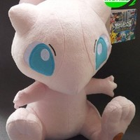 Brand New Pokemon Soft Stuffed Plush Doll Mew 12inches Janpanese Anime by Ferrywala