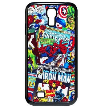 Marvel Comics Avengers Comics Hard Case for Samsung Galaxy S4