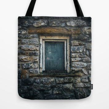 Who's That Peepin' In The Window? Tote Bag by Mixed Imagery