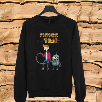 Adventure Time sweater Sweatshirt Crewneck Men or Women Unisex Size