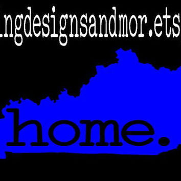 Kentucky State Home Decal   FREE SHIPPING!!