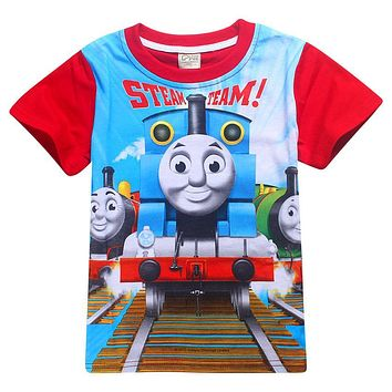 children Boys t shirt and friends clothes children shirts camisetas thomas train clothing roupas infantis menino kids clothes