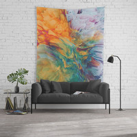 Boom Wall Tapestry by duckyb