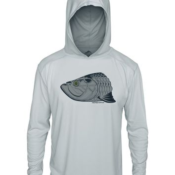 Super Fly Tarpon Limited Edition UPF 50+ Performance Hoodie Fishing Shirt