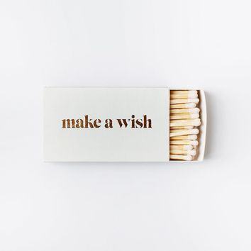 MAKE A WISH XL Statement Matches