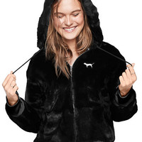 Faux Fur Full-Zip - Victoria's Secret