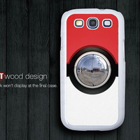 Pokemon Pokeball design Samsung phone case Galaxy SIII case Case Samsung Case Galaxy S3 i9300