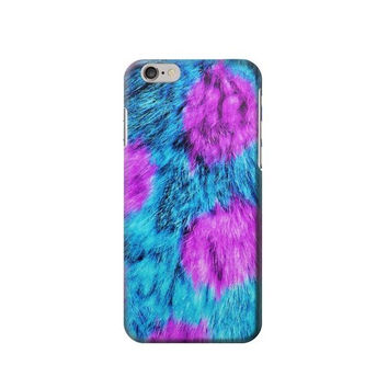 P2757 Fur Skin Monster Phone Case For IPHONE 6S