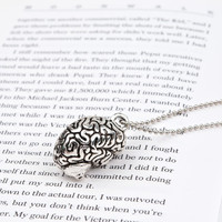 Anatomy Brain Necklace
