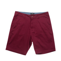 Eidon Wandered Rock Bottom Shorts Burgundy