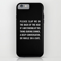 Smartphone slap iPhone & iPod Case by Goldfish Kiss