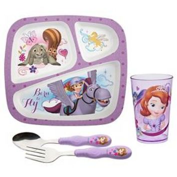 Zak! Sofia The First Dinnerware Set of 4 : Target