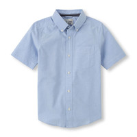 Short-Sleeved Oxford Shirt | The Children's Place