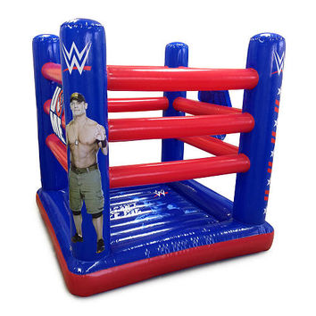 Wwe Ring Style Inflatable Bouncer John From Toysrus