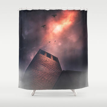 Im so sorry Shower Curtain by HappyMelvin