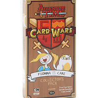 Adventure Time Card Wars Collectors Pack: Fionna Vs. Cake Game
