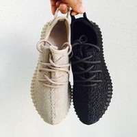 ADIDAS YEEZY classic men and women fashion breathable casual canvas sneakers