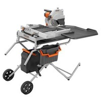 RIDGID, 10 in. Portable Tile Saw with Laser, R4010 at The Home Depot - Tablet