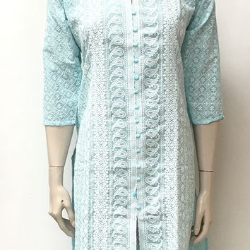 Blue Chicken Kurta
