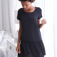 Aerie Shift Dress, True Black