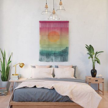 Landscape & gradients II Wall Hanging by vivianagonzalez
