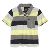 Toddler Boy's Volcom 'Sutton' Stripe Polo