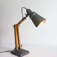 Telegram | Medium Lamp (44cm) | Gun Metal