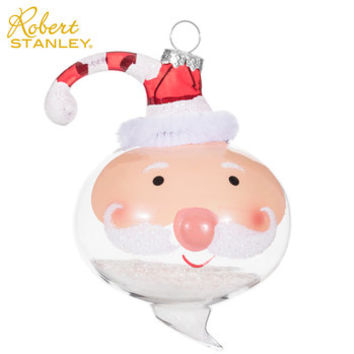 Santa Head Snow Ornament | Hobby Lobby | 5620588