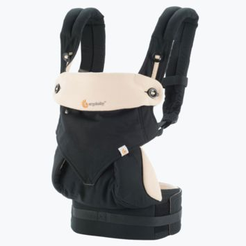 360 Baby Carrier All Carry Positions: Black / Camel
