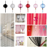 Decorative String Curtain Beads Wall Panel Fringe Curtains For Living Room Room Door Window  FEN#