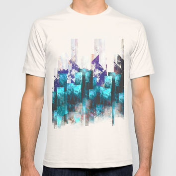 Cold cities T-shirt by HappyMelvin