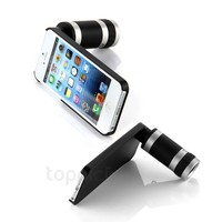 Optical 8x Zoom Telescope Camera Lens + Back Case for iPhone 5 5S