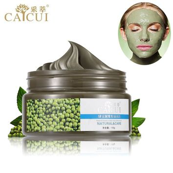Skin Care Authentic Products CAICUI Sand Mung Bean Mud Face Mask, Acne Treatment Blackhead Remover Peeling Off Facial Mask