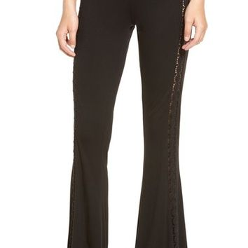 Rip Curl 'Indian Road' Crochet Flare Pants | Nordstrom