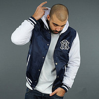 New York Yankees Baseball Varsity Hoodie Jacket