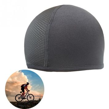 Unisex Quick Dry Helmet Cycling Cap Sports Hat Motorcycle Bike Riding Bicycle Cycling Hat