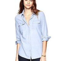 Easy chambray shirt