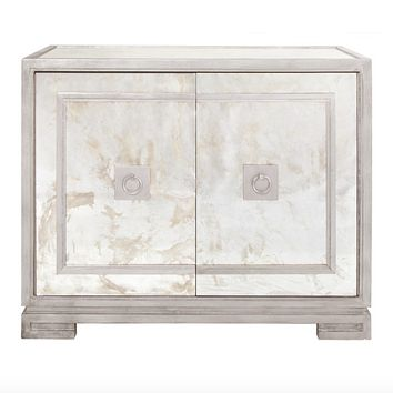 Worlds Away Ophelia Antique Mirror Cabinet