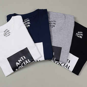 ANTI SOCIAL CLUB T shirt Short Sleeve