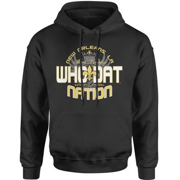 Who Dat Nation New Orleans (Color) Adult Hoodie Sweatshirt