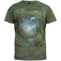 Moon Tree Tie Dye T-Shirt