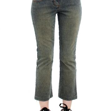 Vintage Y2K Melody Cropped Flared Jeans - XS/S